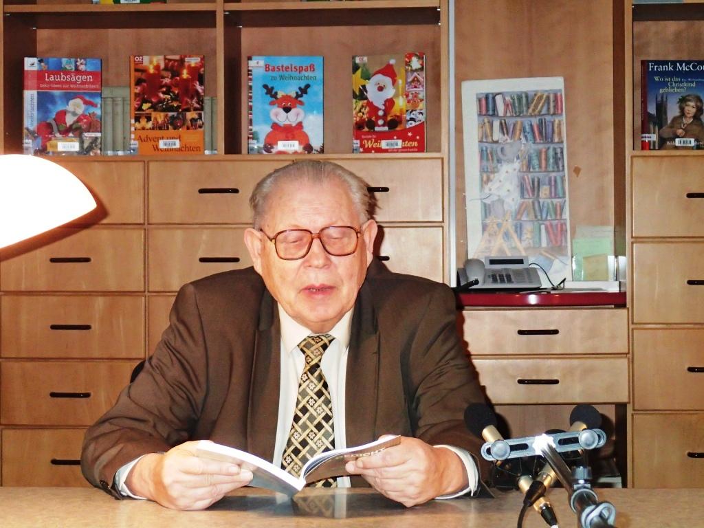 Johannes Kühn liest in Saarouis (25.11.2012)