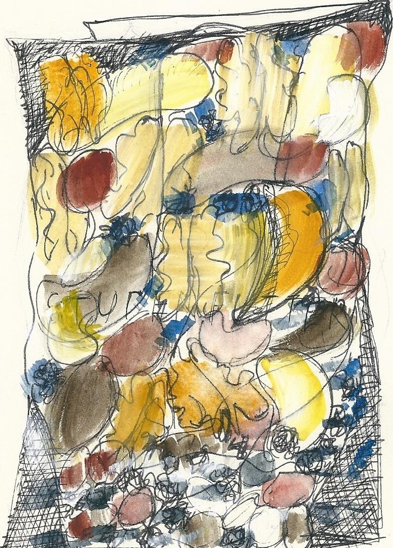 Illustration von Elisabeth Süß-Schwend zu »Studentenfutter« von Hellmuth Opitz