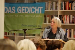 Sabine Zaplin.Foto: © Werner Reichelt / Foto-Video-Werkstatt Fellbach