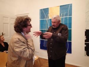 Anton G. Leitner und Ulrich Karlkurt. Foto: DAS GEDICHT