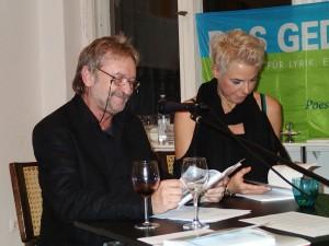 Salli Sallmann und Jo Lenz. Foto: DAS GEDICHT