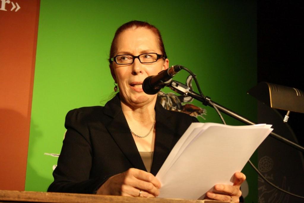 Die Moderatorin: Felizitas Leitner