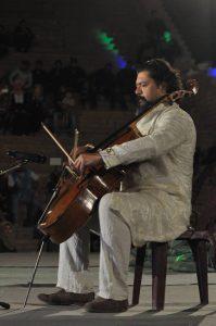 The Iraqi musician Karim Wasfi. Foto: Babylon Festival