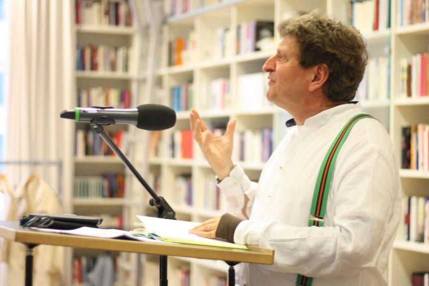 Anton G. Leitner. Foto: Jan-Eike Hornauer