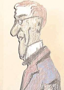 Franz Graf von Pocci, Selbstporträt
