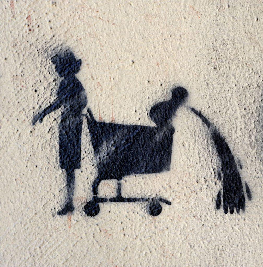 Poesie im öffentlichen Raum, Folge 40. Foto: Volker Derlath