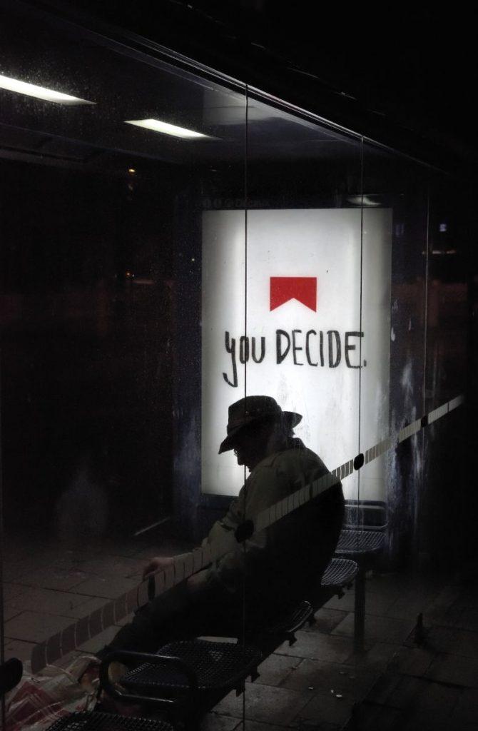 Poesie im öffentlichen Raum, Folge 53. Foto: Volker Derlath