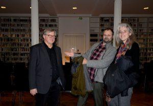 Fitzgerald Kusz mit Armin Stingl und Begleitung. Foto: Volker Derlath
