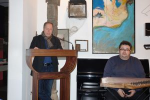 Ludwig Steinherr und Fouad Agha AL-Kalaa