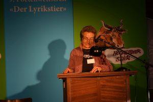 Nadeshda Müller (2. Platz Jurypreis). Foto: DAS GEDICHT