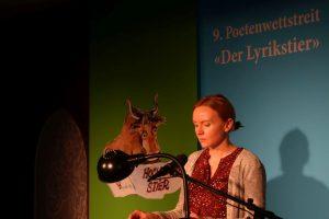 Katja John (Sonderpreis). Foto: DAS GEDICHT
