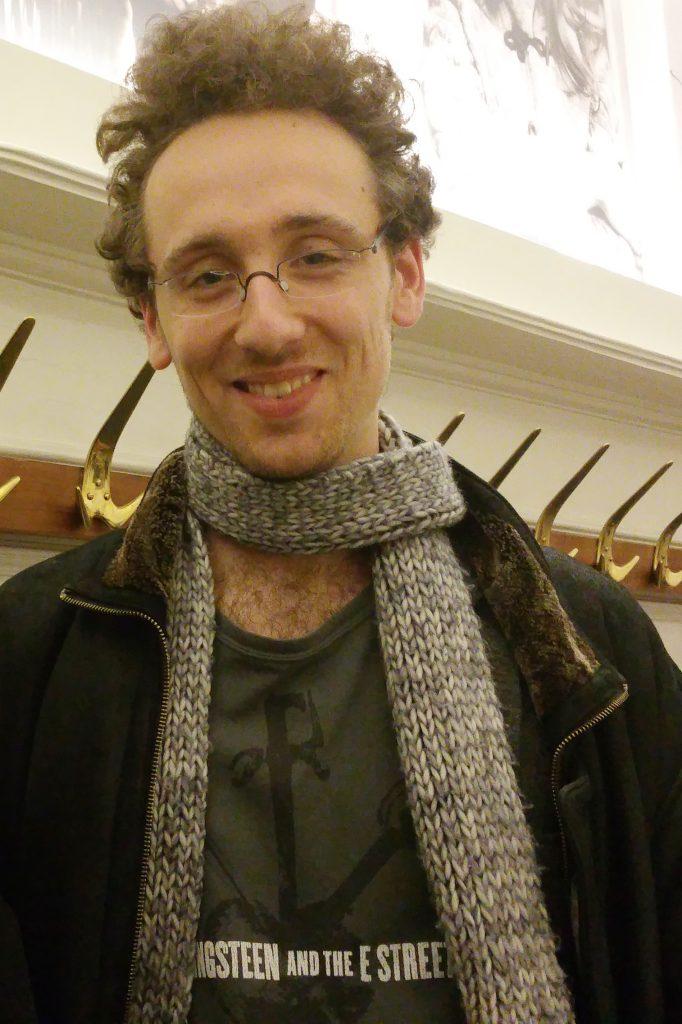 Timo Brandt. Foto: DAS GEDICHT