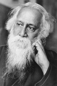Der Dichter Rabindranath Tagore (1861-1941)