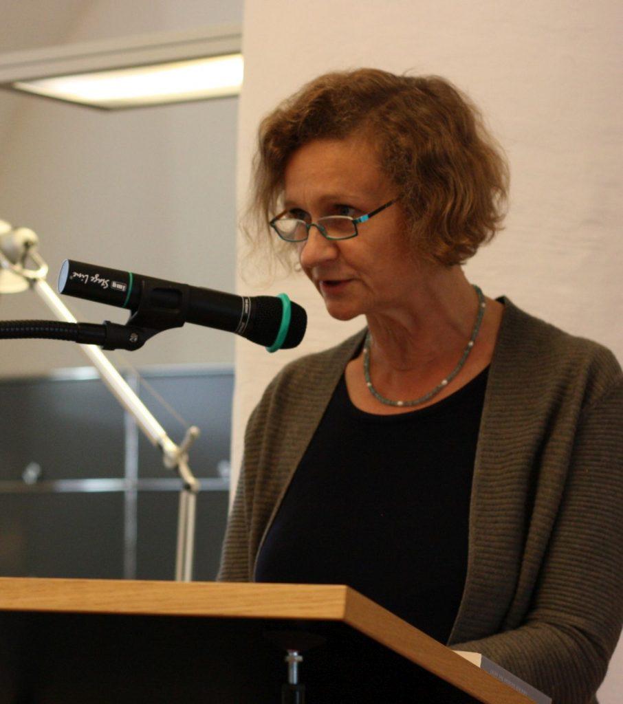 Setzt sich für den deutsch-tschechischen Poesiedialog ein: Klára Hůrková. Foto: Jan-Eike Hornauer