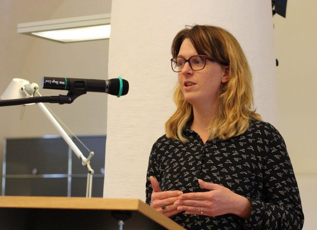 Empfehlungen für Dichter in der digitalen Welt gibt Online-Fachfrau Alexandra Palme. Foto: Jan-Eike Hornauer