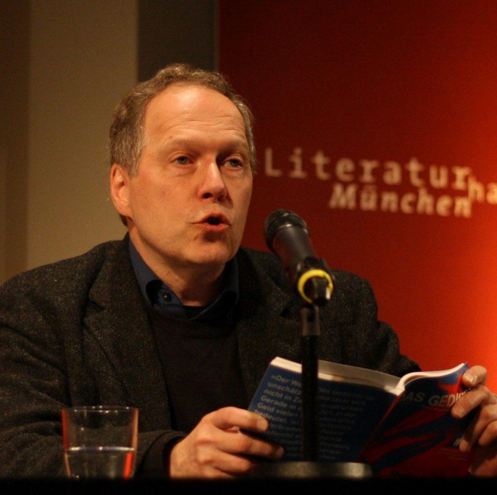Ludwig Steinherr, Mitbegründer von DAS GEDICHT und der Zeitschrift immer noch als Lyriker verbunden. Foto: Jan-Eike Hornauer
