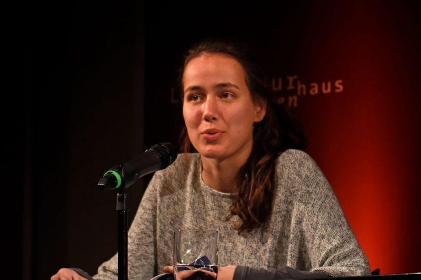 Jana Mathy. Foto: Volker Derlath