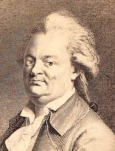 Christian Friedrich Daniel Schubart. Zeitgenössisches Porträt