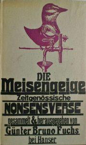 """Günter Bruno Fuchs (Hrsg.) """"Die Meisengeige"""""""