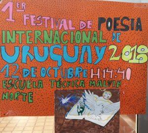 Festivalplakat einer Schule