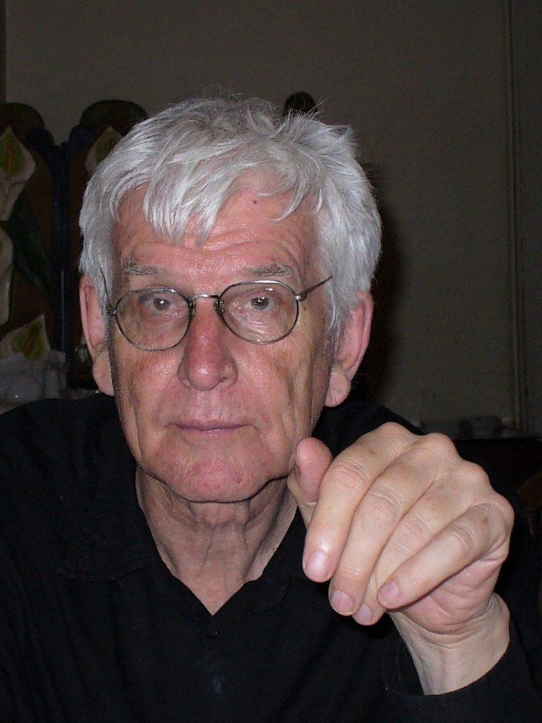 Der schwedische Dichter und Übersetzer Lasse Söderberg