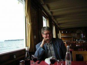 Jörg Neugebauer auf dem Genfer See