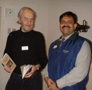 Peter Horn, der südafrikanische Dichter böhmischer Herkunft mit Aminur Rahman