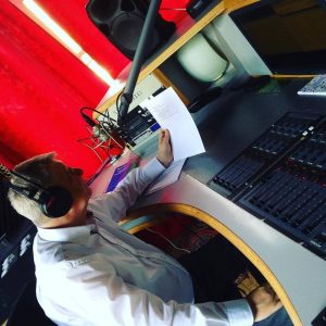 Jörg Neugebauer als Rundfunkmoderator