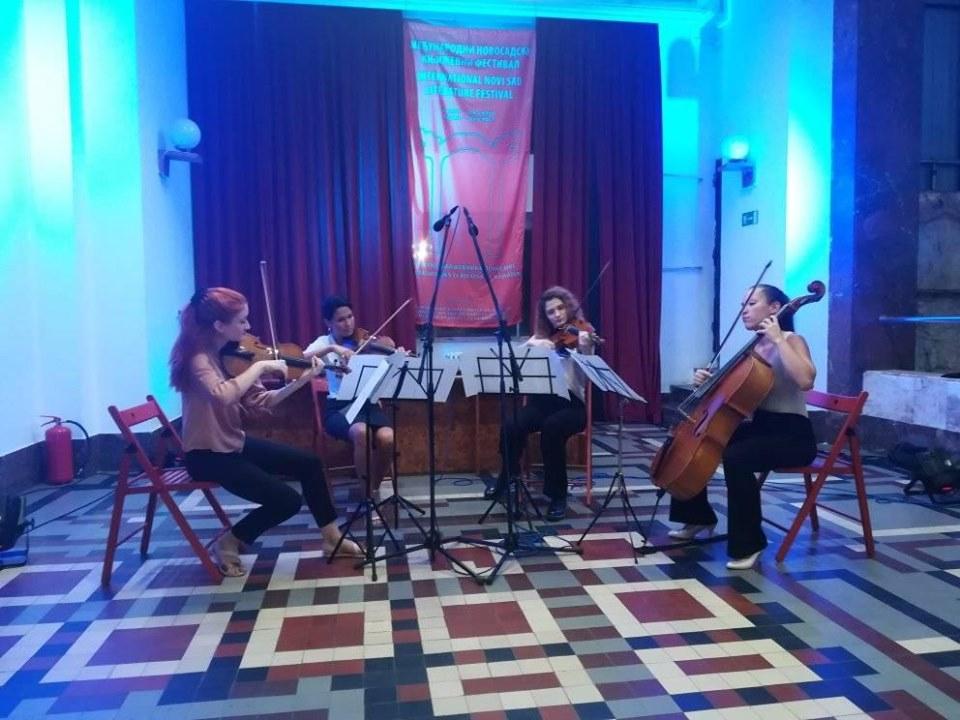Musikalischer Festivalauftakt des Novi Sader Streicherinnen-Quartetts