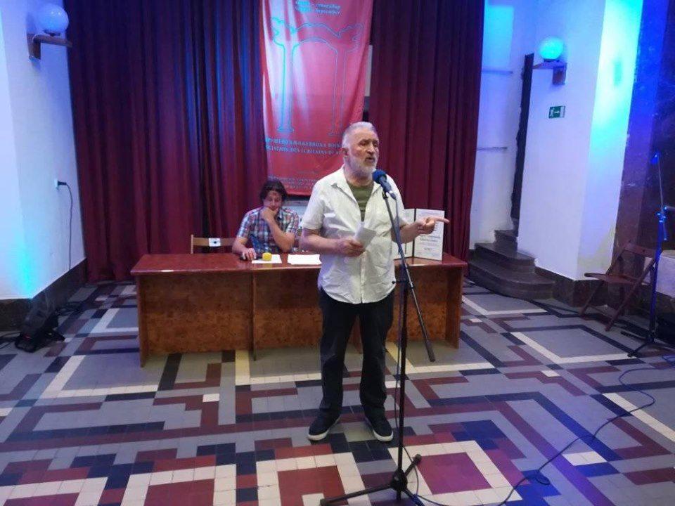 Ansprache des Dichters und Festivalleiters Jovan Zivlak