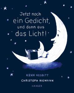 """Buchcover: """"Jetzt noch ein Gedicht, und dann aus das Licht"""" von Kenn Nesbitt"""