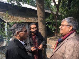 Drei Bangla-Dichter im Gespräch: Biplab Majee, Ahmed Tahsin Shams und Aminur Rahman