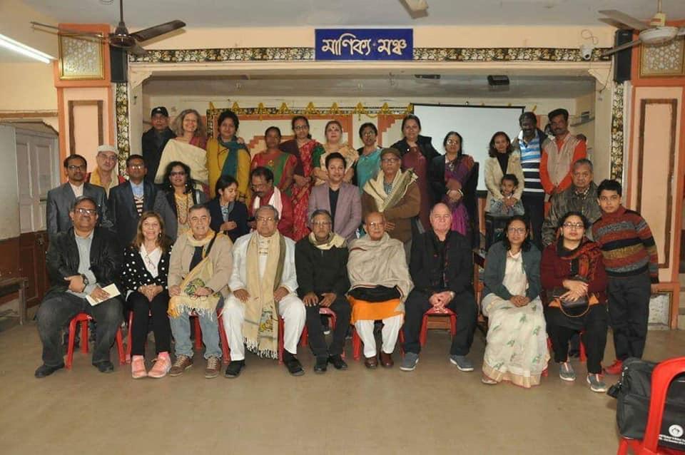 Abschlussveranstaltung im Mahatma Gandhi Seva Sangha, Kolkata