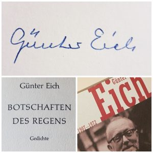 Fotocollage Günter Eich