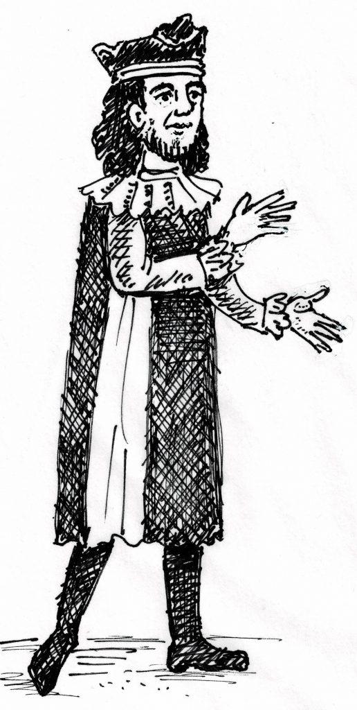 Herzog Wilhelm IX. von Aquitanien