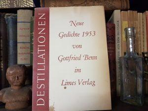 """""""DESTILLATIONEN"""" von Gottfried Benn"""