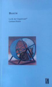 """""""Blech"""" von Gerhard Ruiss"""