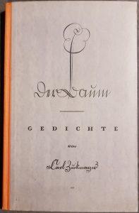 """Coverbild """"Der Baum – Gedichte"""" von Carl Zuckmayer"""