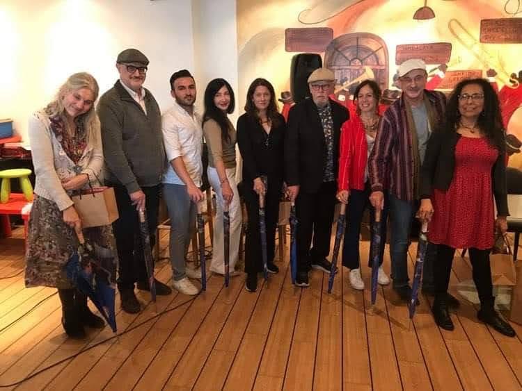 Ulla Gabrielsson, Carlos Vitale, Ceger Hillo, Maram Al-Masri, Corina Oproae, Bengt Berg, Vivian Lemes, Tobias Burghardt und Ángela García