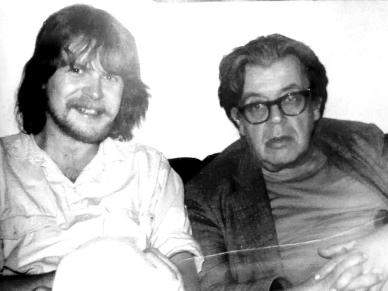Michael Augustin und Erich Fried