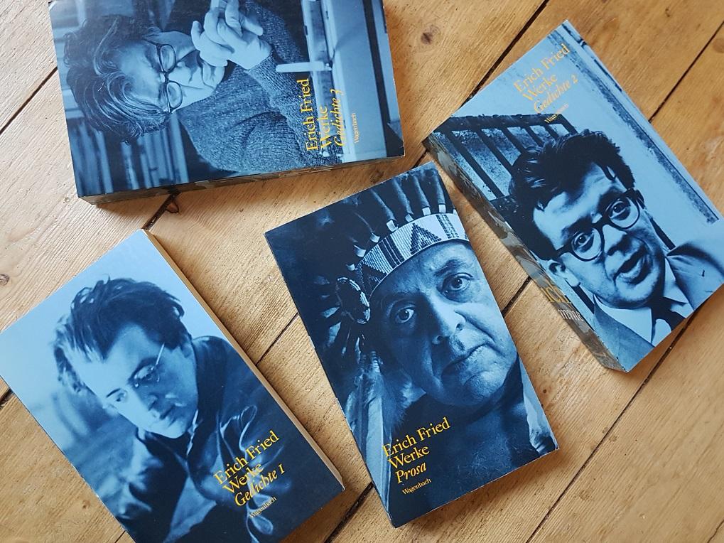 Buchveröffentlichungen von Erich Fried