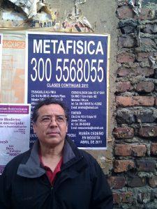 Der mexikanische Dichter José Ángel Leyva