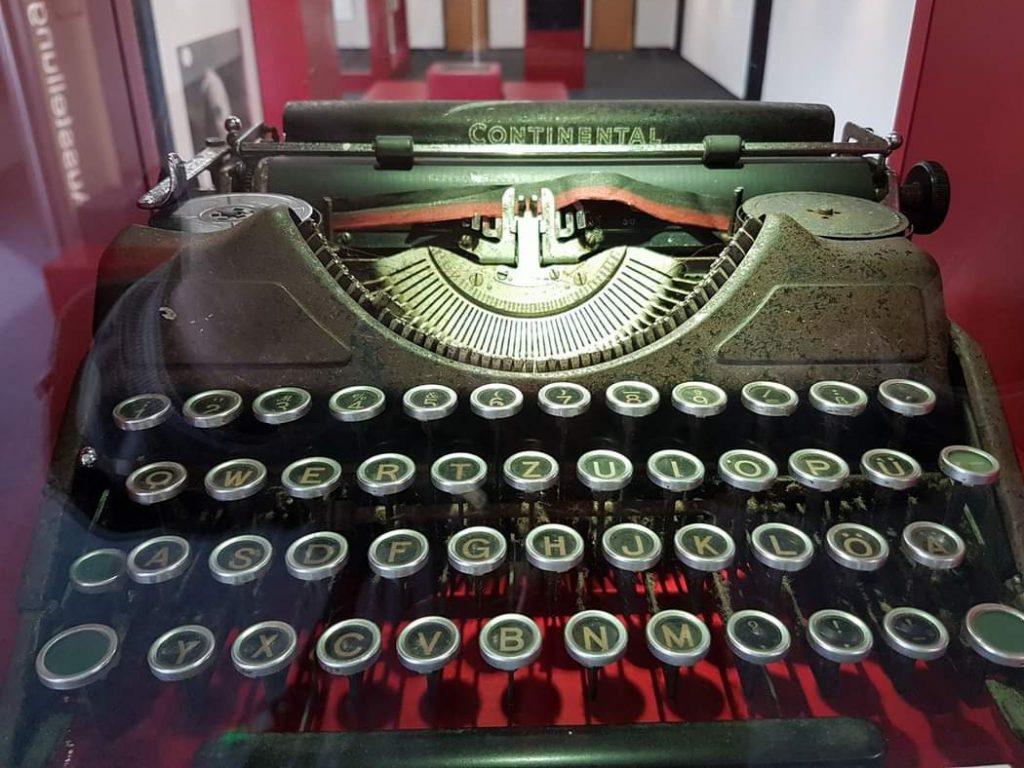 Heinrich Bölls Continental-Schreibmaschine