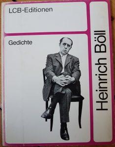 """""""Gedichte"""" von Heinrich Böll"""